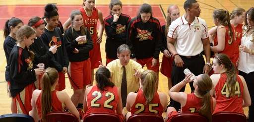 Sachem East girls basketball coach Matt Brisson to