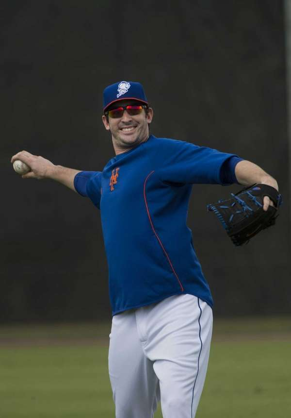 Matt Harvey tosses the ball for the first