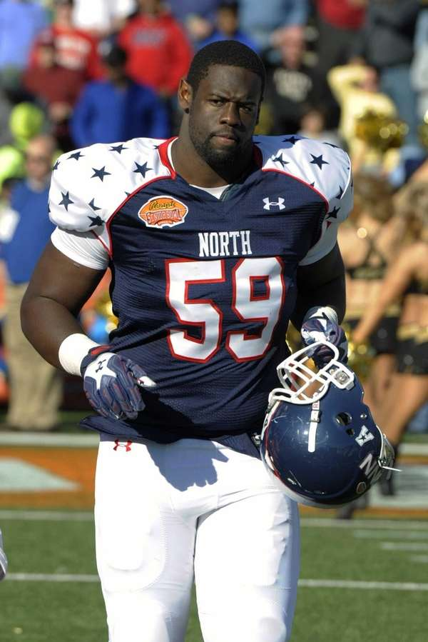 North defensive tackle Shamar Stephen of UConn, a