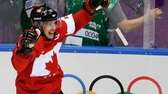 Sidney Crosby of Canada (87) celebrates his goal