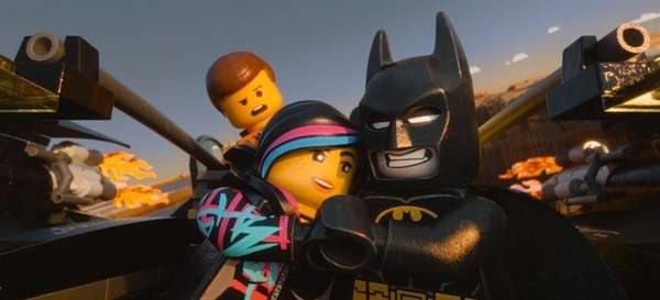 """The Lego Movie"" topped the box office in"