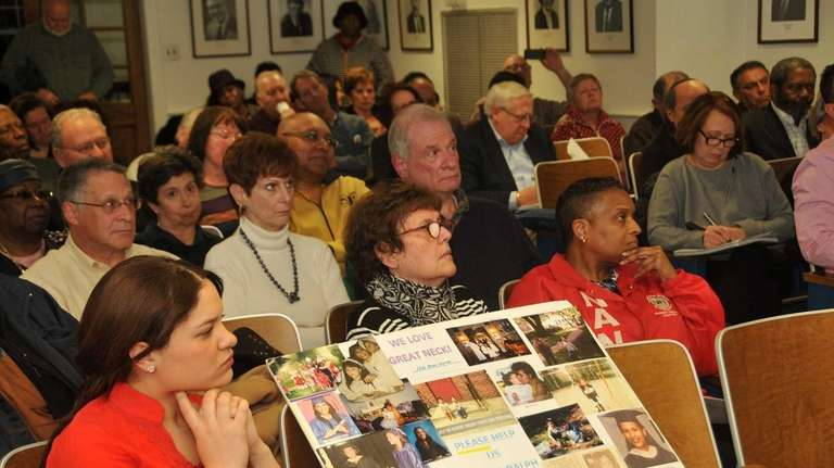 Several community members voiced their support of the