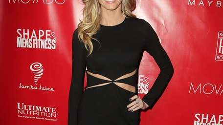 Erin Andrews at the Shape Magazine and Men's