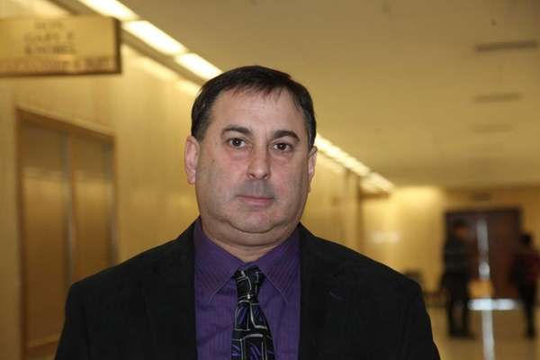 Alan Sharpe, a former Nassau County detective sergeant