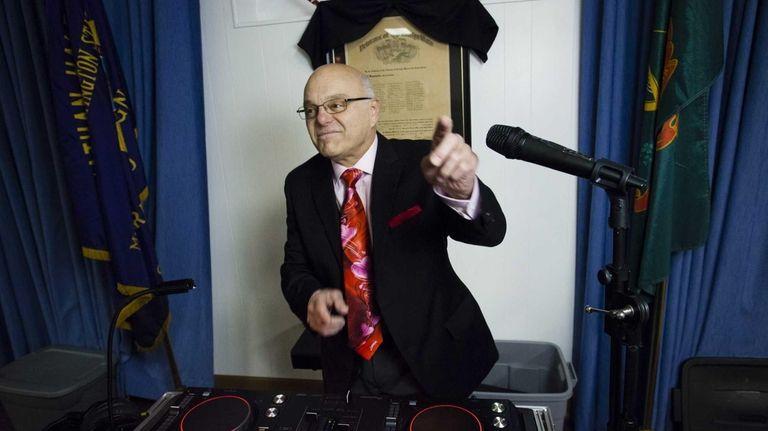 Bob Serrao, 73, was the DJ at the