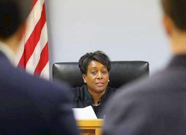 Judge Sharon Gianelli presides over Juvenile Justice Court