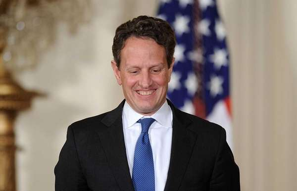 Former Treasury Secretary Tim Geithner has a book,