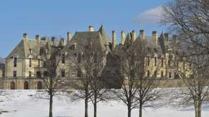 Oheka Castle in Huntington, despite its luxury interior