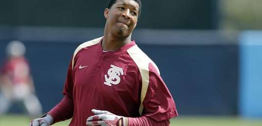 Florida State's Jameis Winston runs the bases during