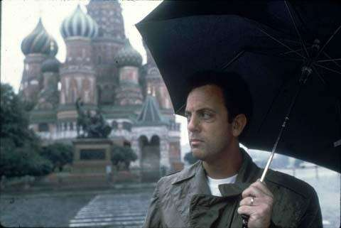 Billy Joel's 1987 tour of the former Soviet