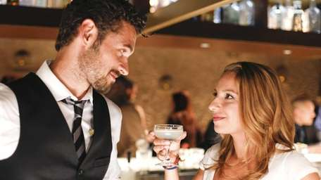 Adan Canto and Vanessa Lengies in