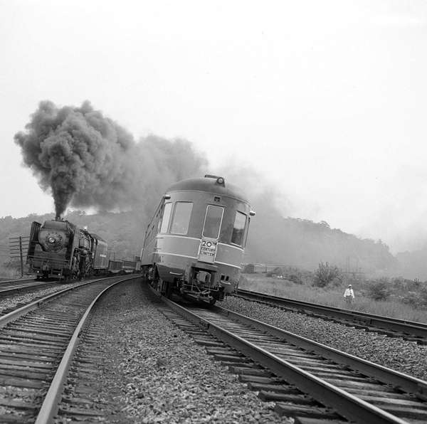 The 20th Century Limited seen Sept. 9, 1948,