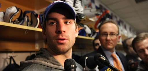 John Tavares discusses his season-ending knee injury during