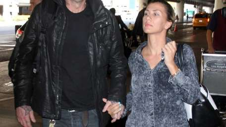 Tommy Lee with Sofia Toufa at Los Angeles