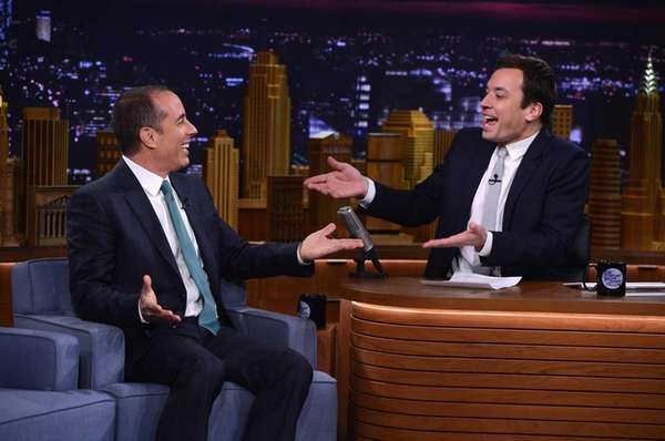 Jerry Seinfeld visited
