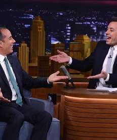 "Jerry Seinfeld visited ""The Tonight Show Starring Jimmy"