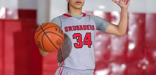 "Long Island Lutheran's Lauren ""Boogie"" Brozoski directs the"
