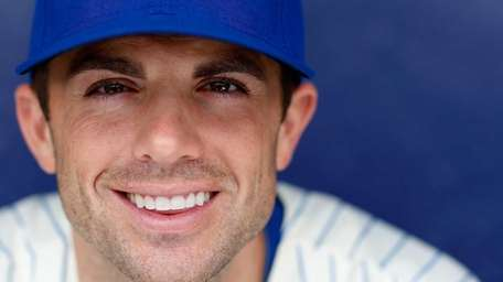 David Wright poses for a portrait on spring