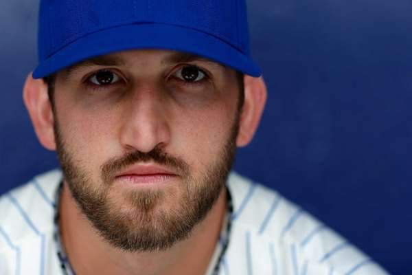 Jonathon Niese poses for a portrait during Mets