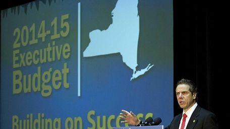 New York State Gov. Andrew Cuomo has proposed