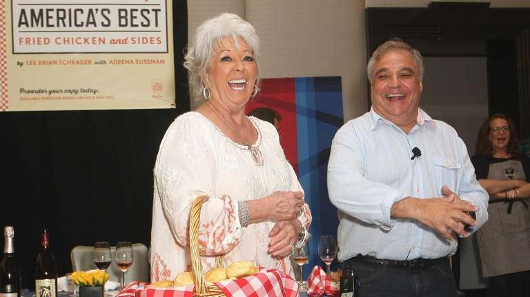 Paula Deen and founder of the Food Network