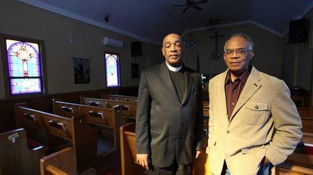 Pastor Gregory Leonard of the Bethel African Methodist
