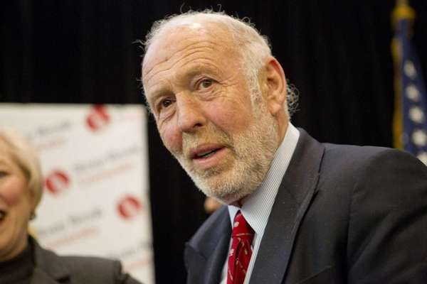 Renaissance Technologies founder James Simons is No. 4