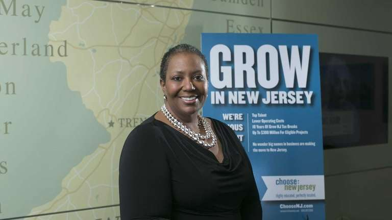Choose New Jersey CEO Tracye McDaniel shows the