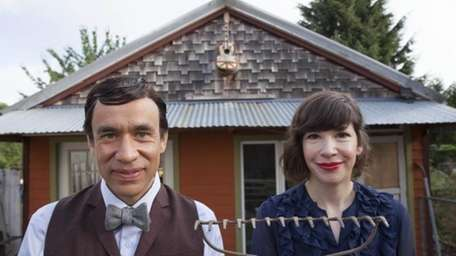 Fred Armisen, left, and Carrie Brownstein from
