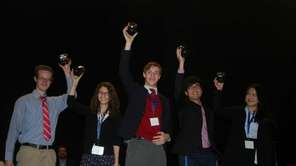 Stony Brook Schools team recently took second place