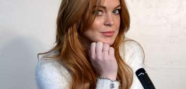Lindsay Lohan at Sundance, Jan. 20, 2014. Her