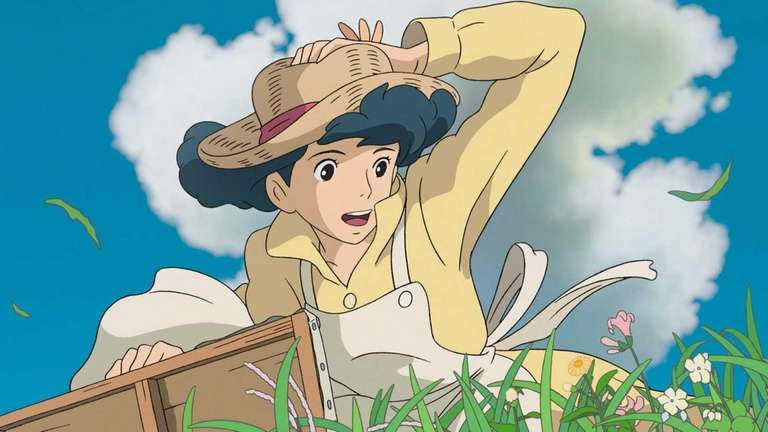 A scene from the animated film,