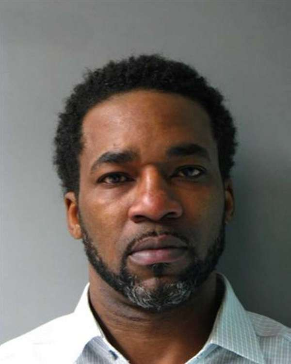 Derek Lawrence, 49, of Elmont, was arrested Monday,