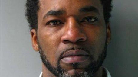 Derek Lawrence, 49, of Elmont, was arrested Monday,
