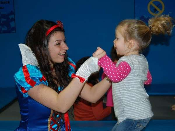 Toddler Time at Bounce! Trampoline Sports in Syosset