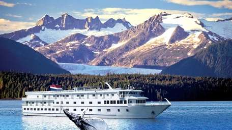 American Cruise Lines' American Spirit ,with a view