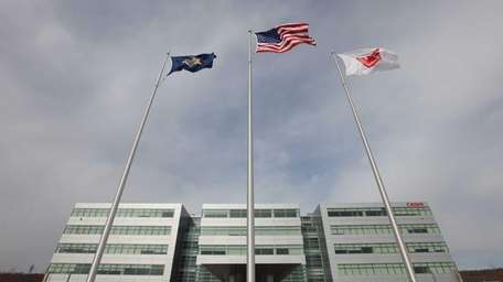 Canon U.S.A.'s Americas headquarters in Melville, seen on