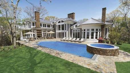 A custom-designed, high-tech North Haven waterfront Estate on