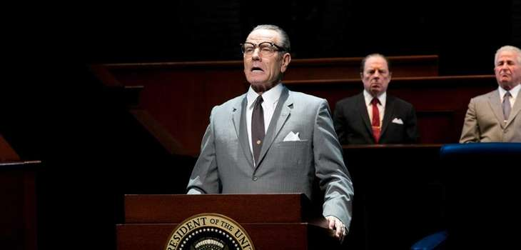 "Bryan Cranston in ""All the Way,"" a new"