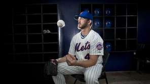 Mets pitcher Jon Niese is photographed during photo