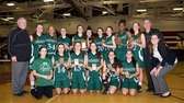 Harborfields poses for a pictures after winning the