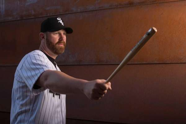 Adam Dunn of the Chicago White Sox poses