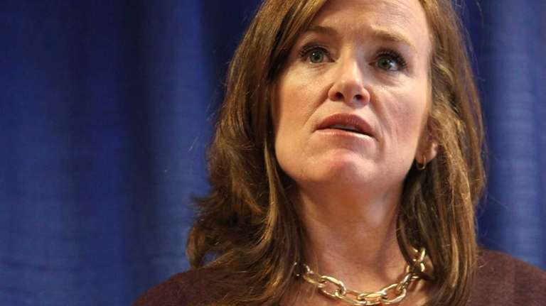 Nassau County District Attorney Kathleen Rice in Mineola