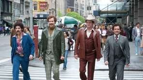 In quot;Anchorman 2: The Legend Continues,quot; Ron Burgundy