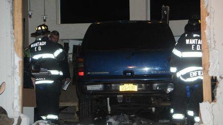 Nassau police said a man was taken to