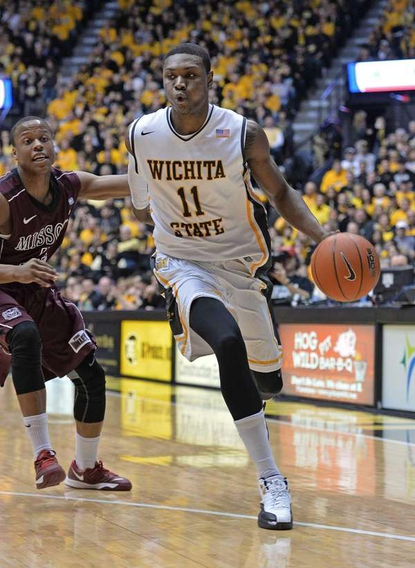 Forward Cleanthony Early of the Wichita State Shockers