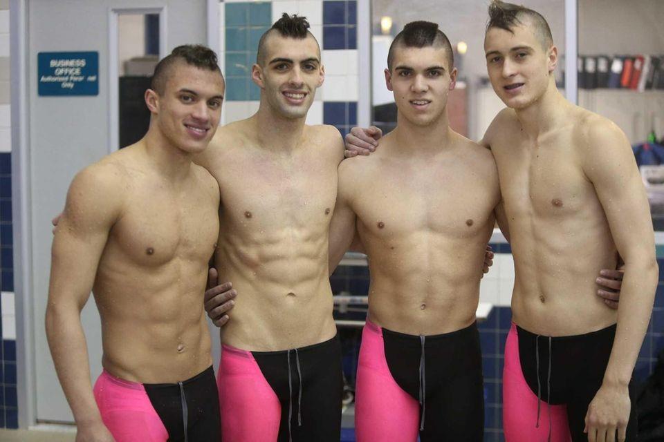 From left, Justin Plaschka, Trevor Maida, Phil Quartararo