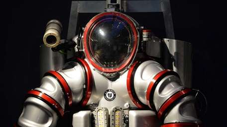 A one-of-a-kind Exosuit, a next-generation atmospheric diving system