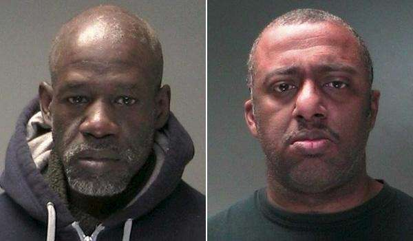 Arthur Henderson, left, 53, of Central Islip, and
