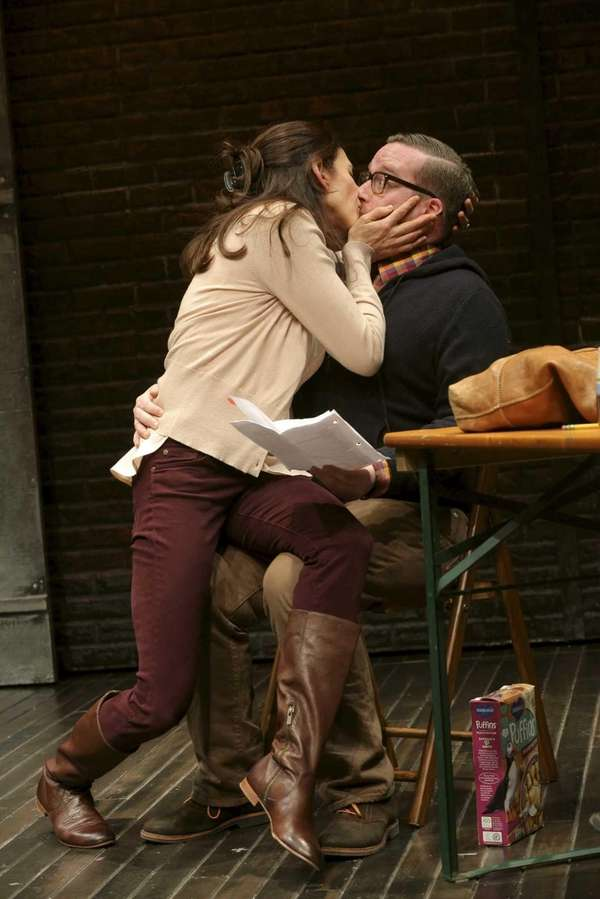 Jessica Hecht and Michael Cyril Creighton in